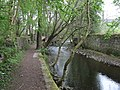 Keighley - footpath alongside River Worth - geograph.org.uk - 1272721.jpg
