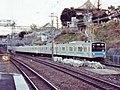 Keihin-Tohoku 205 Nishi-Nippori 199202.jpg