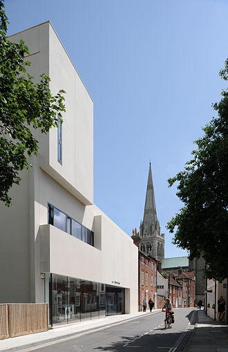 Keith Williams (architect) - Image: Keith Williams Architects Novium Museum Chichester