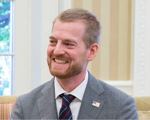 Kent Brantly - Brantly visiting the White House, September 16, 2014