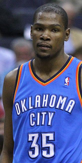 Oklahoma City Thunder - Kevin Durant