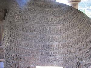 Varaha Temple, Khajuraho - Image: Khajuraho India, Varaha Temple Body