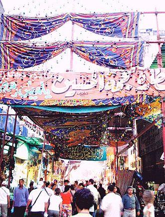 Ahmad Salama Mabruk - The Khan el-Khalili marketplace
