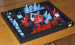 Khet strategy game.JPG