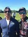 Khizer Ahmed and mentor Shoaib Akhtar.jpg