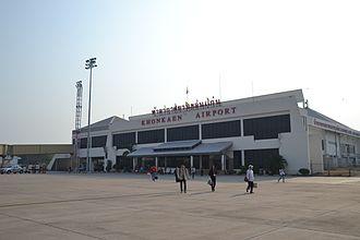 Khon Kaen Province - Khon Kaen airport