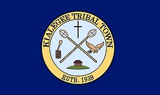 Kialegee Tribal Town - Image: Kialegee flag