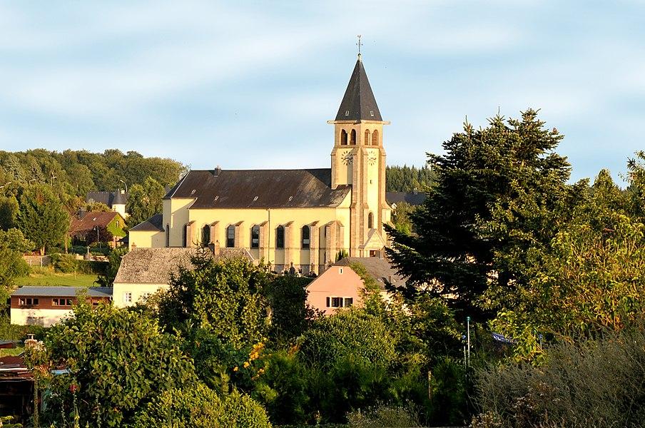 D'Kierch vun Duelem (Réimech).