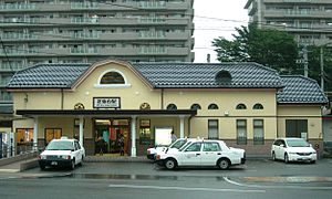 Kitasendai Station 200907 cropped.jpg