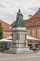 Klagenfurt Neuer Platz Ost-Seite Maria-Theresien-Denkmal 23072016 3942.jpg