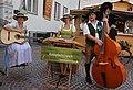 Knöpferlstreich Musikgruppe beim Kirchtag in Villach, Kärnten.jpg