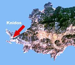 Knidos Karte