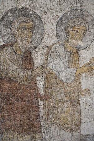 Kobayr monastery - Image: Kobayr Monastery Fresco