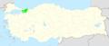 Kocaeli Turkey location map.PNG