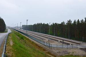 Värska Parish - Image: Koidula raudteejaam 2015