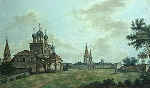 Kolomenskoye - View of Kolomenskoye by Fyodor Alexeyev (19th century)