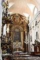 Kolozsvár, piarista templom belső tere 2021 02.jpg