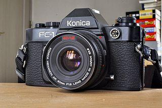 Konica FC-1 SLR camera