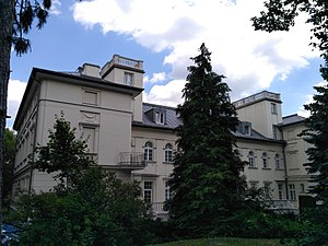 The main building of Konkoly Observatory in Budapest.