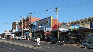 Korumburra Town in Victoria, Australia
