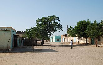 Kosti, Sudan - Kosti Residential Area