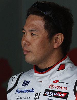 Kosuke Matsuura - In 2010, Matsuura as a Super GT driver.