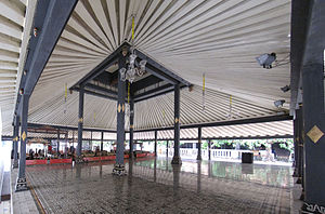 Kraton (Indonesia) - Pendopo (pavilion) in Kraton Yogyakarta