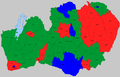 Kronoberg kommunkarta 1952 Val 1954.png
