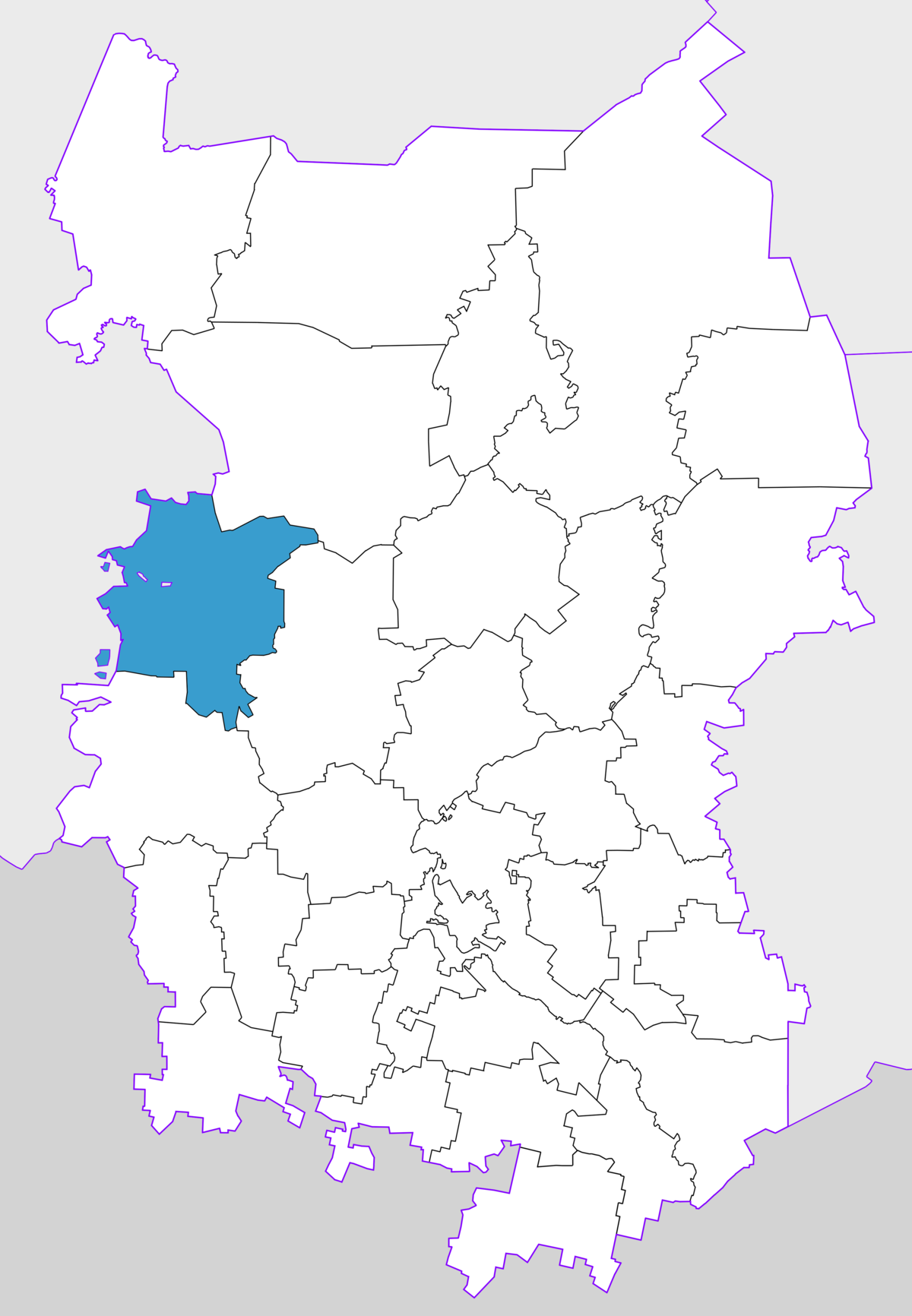 What is the federal district of Omsk, and where is it located 89