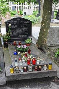 Krzysztof Kamil Baczynski grave.JPG