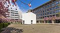 Kubus Haus der Architektur Köln, Josef-Haubrich-Hof, Kirschblüte-9692.jpg