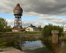 Kugelwasserturm Umformerstation Ilseder Hütte.jpg