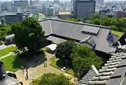 Kumamoto jo honmaru frm tenshu