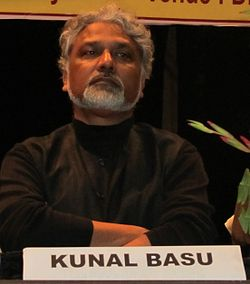 Kunal Basu at the University of Burdwan 8th - 9th February 2012.jpg