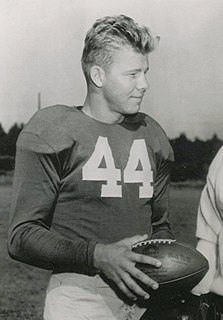 Player of American football