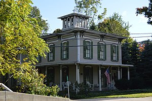 National Register of Historic Places listings in Chautauqua County, New York - Image: L. Bliss House