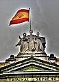 LA LEY FLANQUEADA POR LA JUSTICIA Y EL DERECHO. TRIBUNAL SUPREMO DE ESPAÑA.jpg