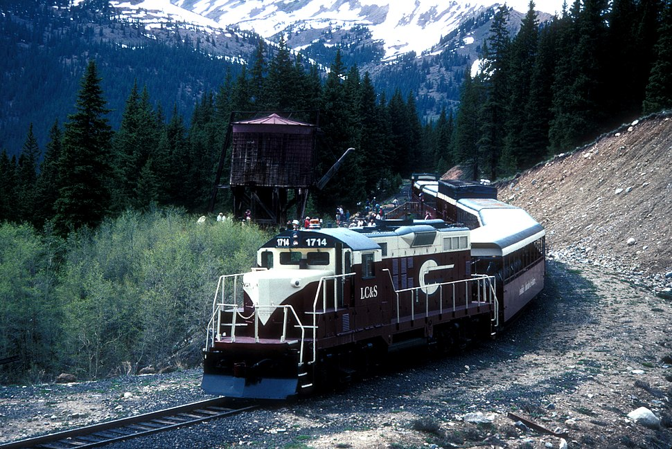 LEADVILLE, COLORADO, AND SOUTHERN RAILROAD EXCURSION