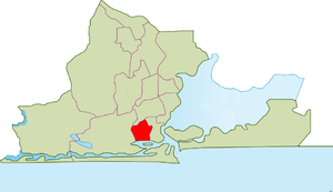 Ajeromi-Ifelodun - Image: LGA Mapa de Ajeromi Ifelodun, Lagos