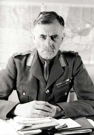 Minister of National Defence (Canada) - Image: L Gen Andrew Mc Naughton, 1942 cropped