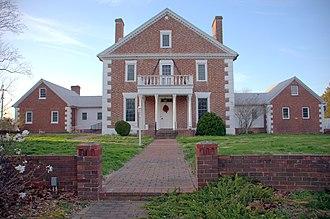 Waterloo (Princess Anne, Maryland) - Image: LR Walls Waterloo Princess Anne, MD