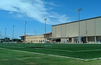 LSU Indoor Practice Facility - Image: LSU Indoor Practice Facility