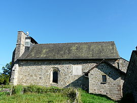 The church in La Feuillade