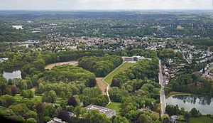 La Hulpe - Image: La Hulpe aerial photo A