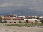 La Mola vista des de l'aeroport de Sabadell.jpg