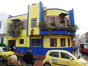 La Candelaria - Art deco house - La Vieja Suiza, Calle 12 No. 3-07 Bogotá, Colombia