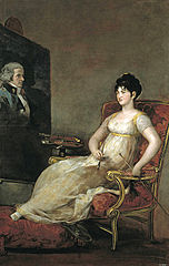 Portrait de la Marquise de Villafranca