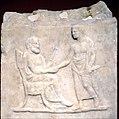 La transmission artistique du père au fils (Musée national d'archéologie, Athènes) (30137748244).jpg