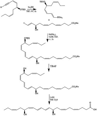 Protectin D1 - Laboratory synthesis of Protectin D1 (PD1)