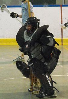 Goaltender Box Lacrosse Wikipedia